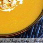 Sopa de calabaza y naranja con thermomix