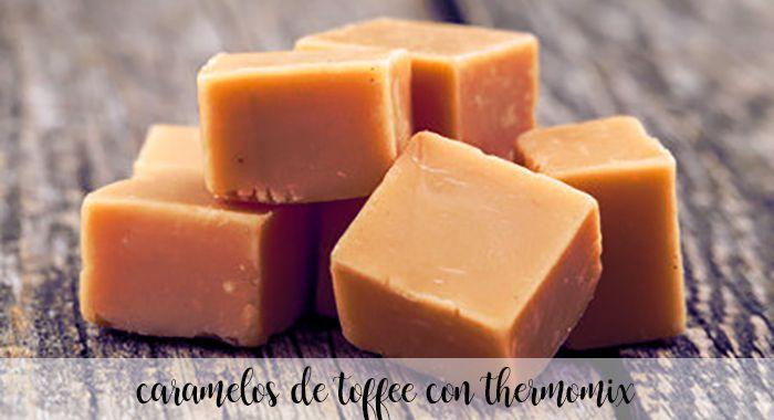 Caramelos de Toffee con thermomix