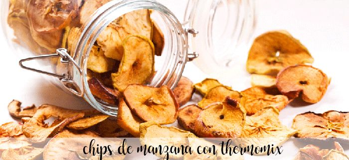 Chips de manzana con Thermomix