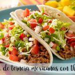 Fajitas de ternera mexicanas con thermomix