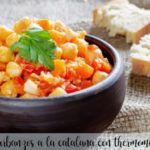 garbanzos a la catalana con thermomix