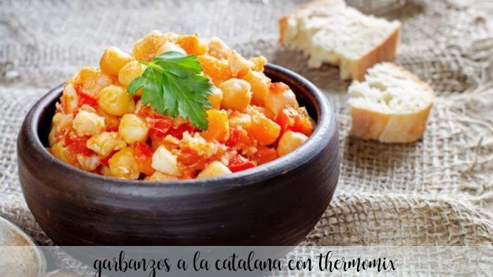 Garbanzos a la catalana con thermomix
