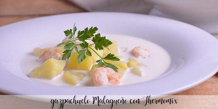 gazpachuelo malagueño con thermomix