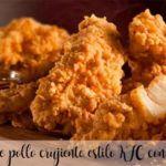 Trozos de pollo crujiente estilo KFC con thermomix