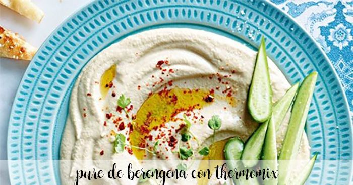 pure de berengena con thermomix