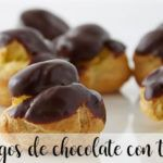 relampagos de chocolate con thermomix