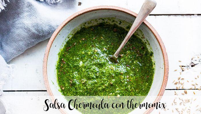 Salsa Chermoula con thermomix