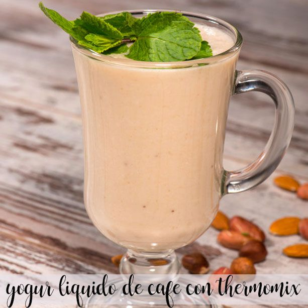 yogur liquido de cafe con thermomix