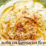 10 recetas con hummus con thermomix