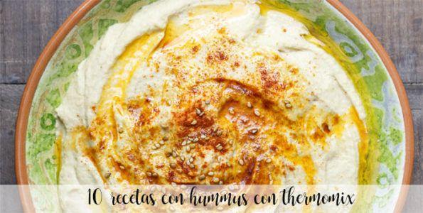 15 recetas de Hummus con thermomix