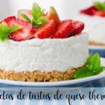 10 recetas de tartas de queso thermomix
