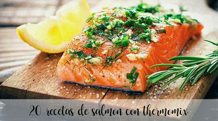 Recetas con salmon en thermomix