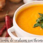 30 cremas de verduras con Thermomix