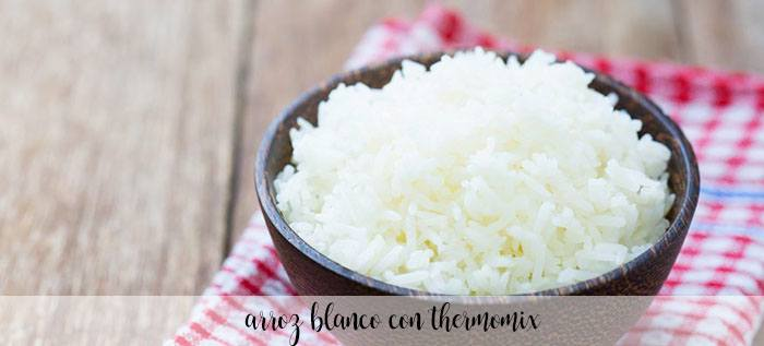 Arroz blanco con thermomix