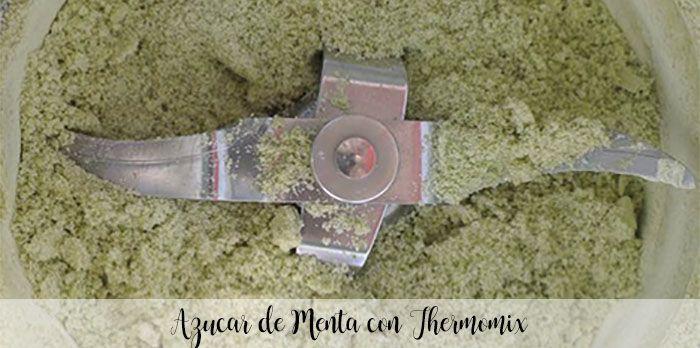 Azucar de Menta con Thermomix
