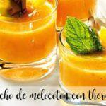 Gazpacho de melocotón con Thermomix
