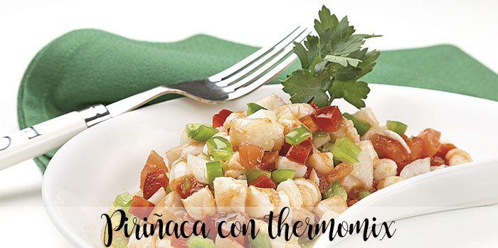 Piriñaca con thermomix