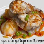 Rape a la gallega con Thermomix
