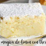 Tarta de limón mágica con thermomix