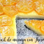 Tarta fácil de naranja con Thermomix