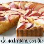 Tarta de nectarinas con Thermomix