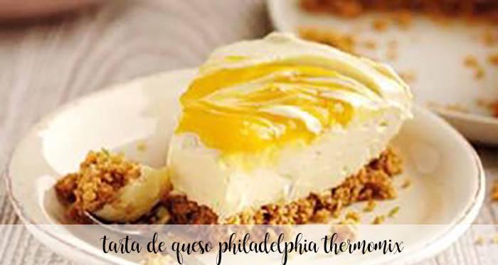 Tarta de queso Philadelphia con Thermomix