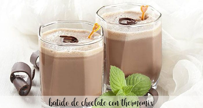 Batido de Chocolate con Thermomix