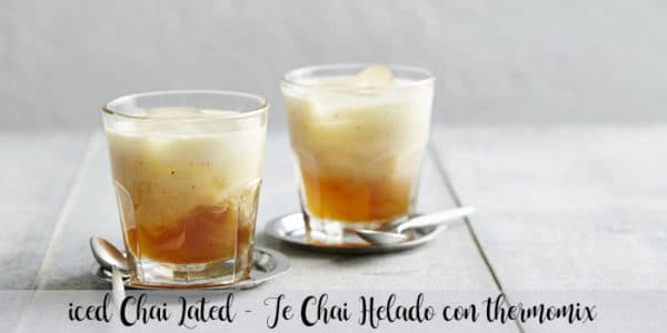 Iced Chai Latted – Te Chai Helado con thermomix