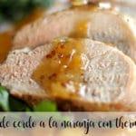 Lomo de cerdo a la naranja con thermomix