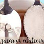 Equivalencias entre azucar y edulcorantes