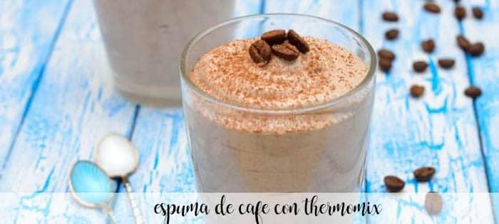 Espuma de café con thermomix