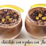 Mousse de chocolate con azahar con Thermomix