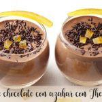 Mousse de chocolate con azahar con Thermomix