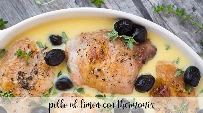 Pollo al limon con thermomix