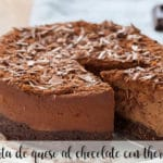 tarta de queso al chocolate con thermomix