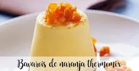 Bavarois de naranja thermomix