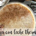 Quinoa con leche con thermomix