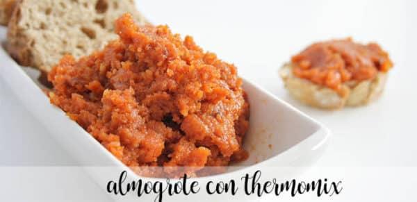 Almogrote con thermomix