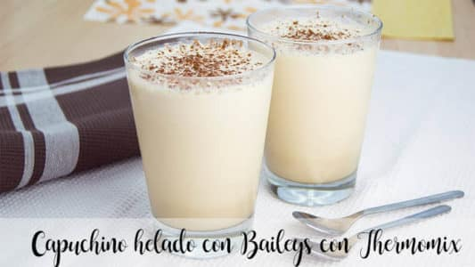 Capuchino helado con Baileys con Thermomix