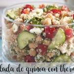 Ensalada de quinoa con thermomix