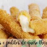 Fingers de queso con thermomix