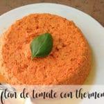 Flan de tomate con Thermomix