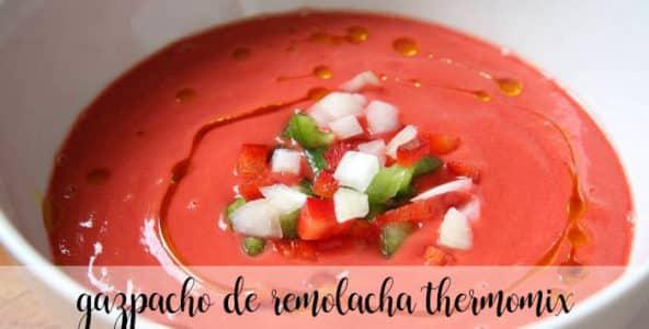 gazpacho de remolacha con thermomix