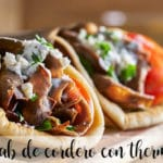 Kebab de cordero con thermomix