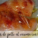 pechugas de pollo al varoma con thermomix