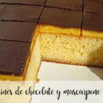 Borrachines de chocolate y mascarpone Thermomix