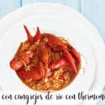 Arroz con cangrejos de rio con thermomix
