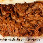 Carne mechada con thermomix