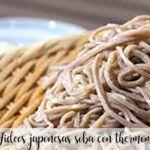 Fideos japonesas soba con thermomix