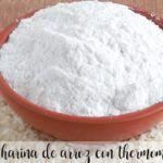 Hacer harina de arroz con la Thermomix